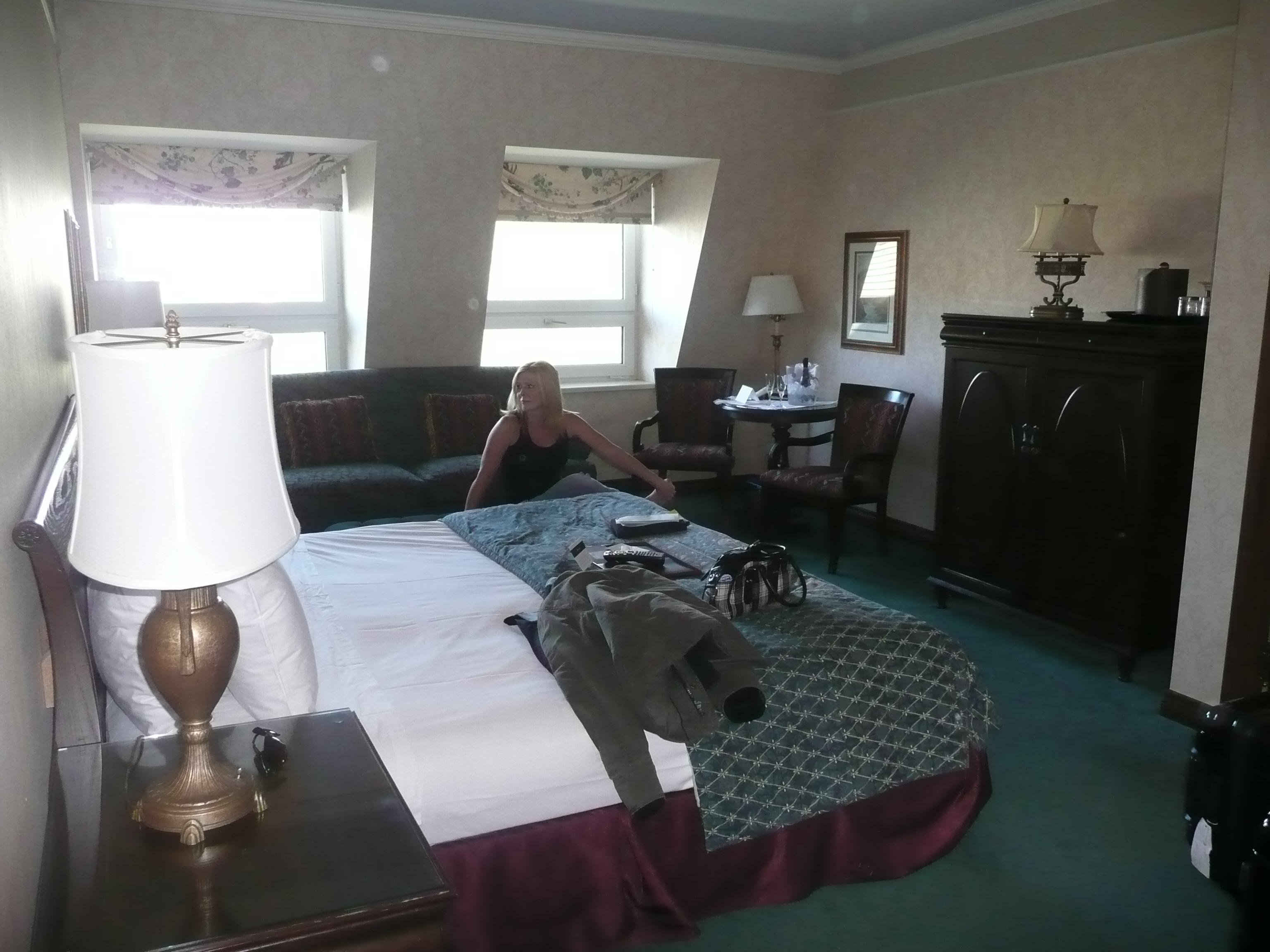 Banff Springs Hotel Room